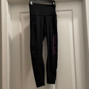 90° by reflex XS black leggings with pockets